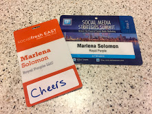 Name tags from past conferences.